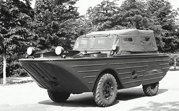 Советские водоплавающие автомобили