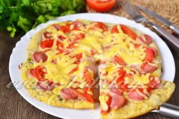 рецепт пиццы на кефире