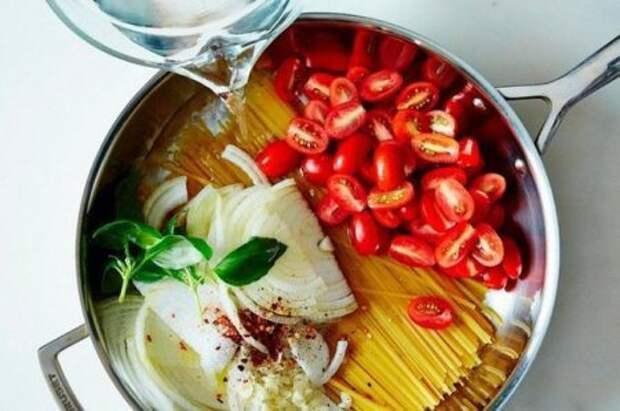 Вкусная паста за 9 минут