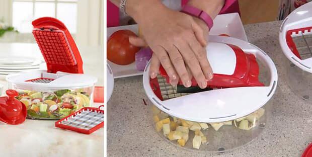 13. Салат теперь можно приготовить буквально в одно нажатие готовка, кухня, советы