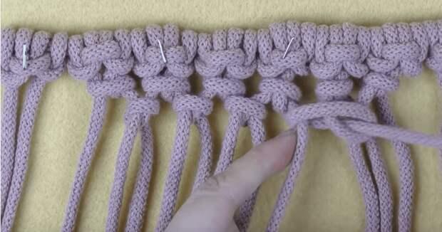 Милая, красивая и удобная корзинка, интересная техника без вязания