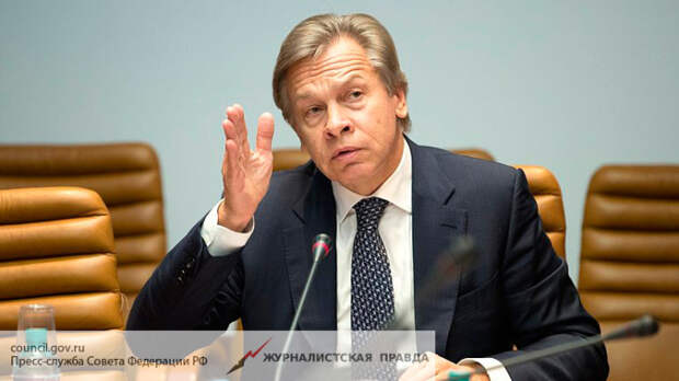Пушков назвал сверхглупостью заявление главы МИД Латвии об «оккупации» СССР