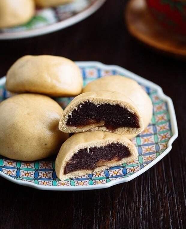 Manju (мандзю) вкусно, еда, необычные продукты, сладости, япония