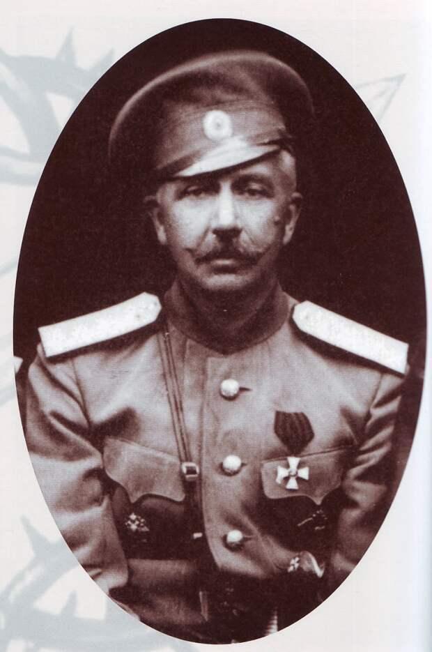 Атаман ВВД, генерал от кавалерии П.Н. Краснов.