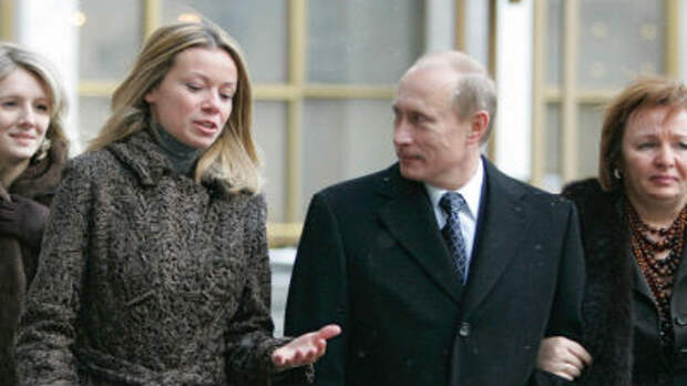 Reuters раскрыл личность мужа и состояние «дочери Путина»