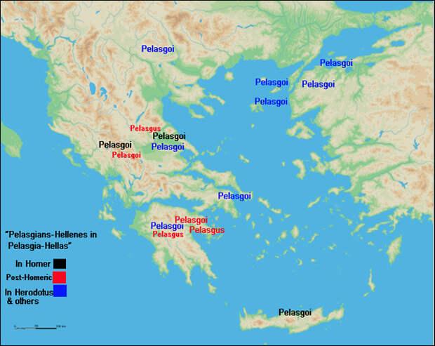 Основы религиозного мировоззрения древних греков и пелазгов