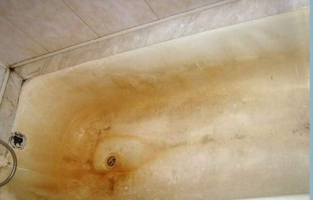 Что будет, если не мыть ванну