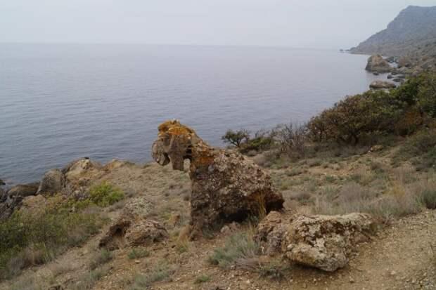 Место в Крыму, где могут двигаться даже камни