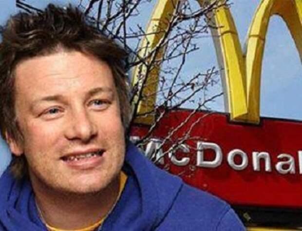 """Как делают гамбургеры в """"Макдональдс""""- рассказывает Джейми Оливер. Фанатам фаст-фуда посвящается"""