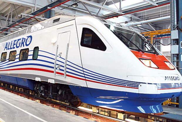 MultiTEC прорекламирует поезда «Аллегро»