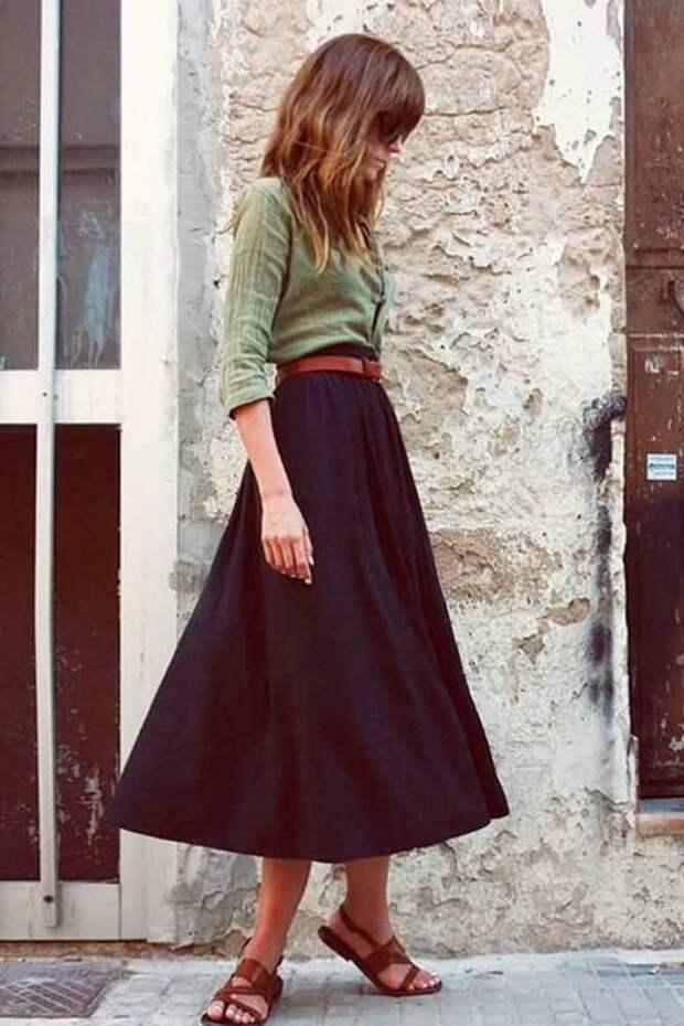 Цвет хаки: сочетание с другими цветами в женской одежде