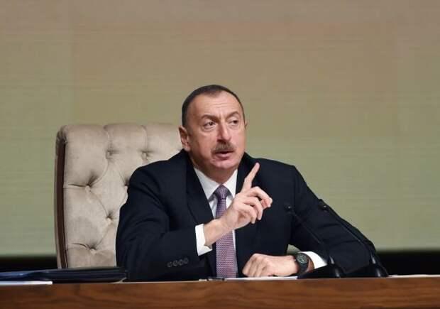 Алиев угрожает силой прорубить «коридор» через территорию Армении