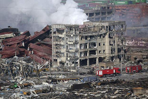 Техногенная катастрофа в Китае