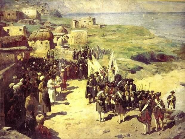 Персидский поход Петра I