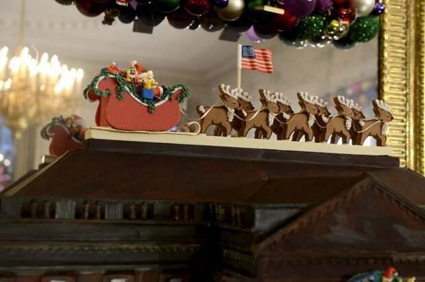 Как празднуют Рождество в Белом доме