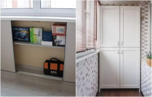 10 идей, как организовать хранение на балконе, чтобы он не напоминал склад