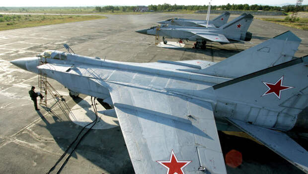 Истребители МиГ-31. Архивное фото