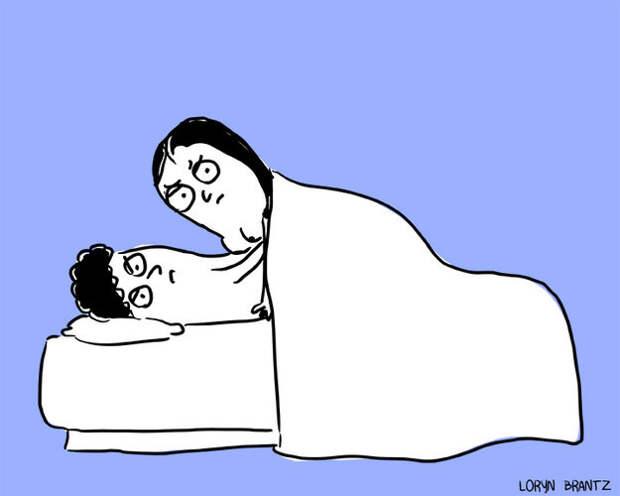 11 поз, составляющих интимную жизнь всех постоянных пар