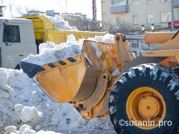Власти Ижевска планируют в этом году открыть снегосвалку