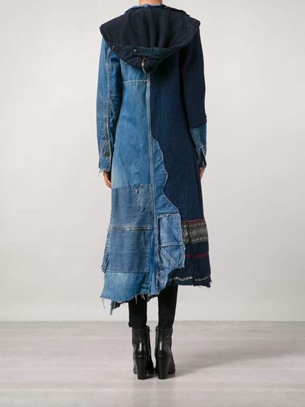 Пальто в стиле боро и сашико