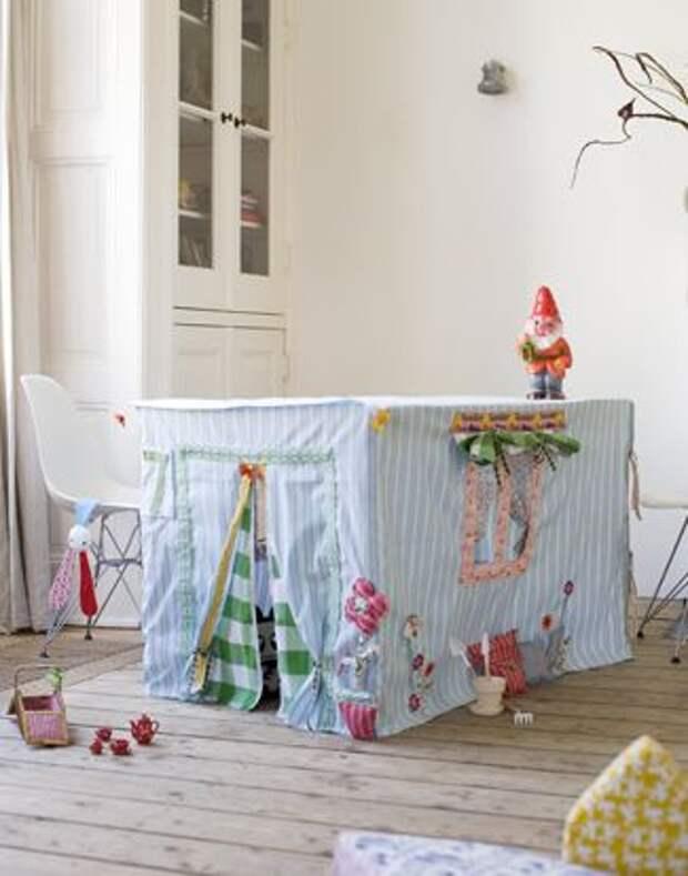 Подборка идей различных домиков в детской комнате