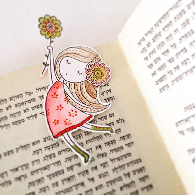 В каждой девочке живет принцесса: нежные вышивки и рисунки Tamar Nahir Yanai