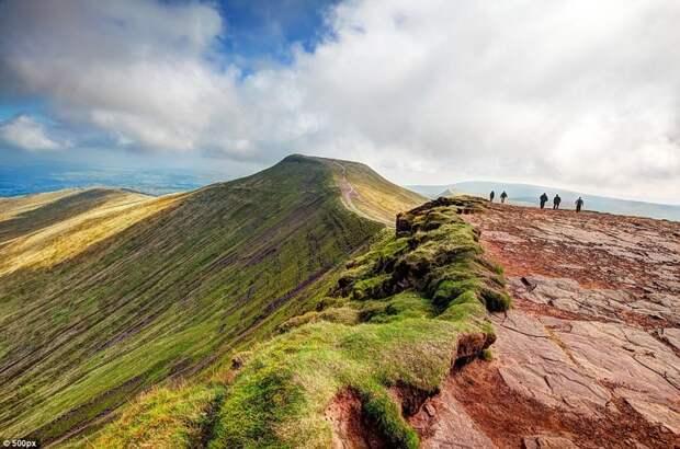 Национальный парк Брекон Биконс, Уэльс, Великобритания европа, красоты, национальные парки, природа