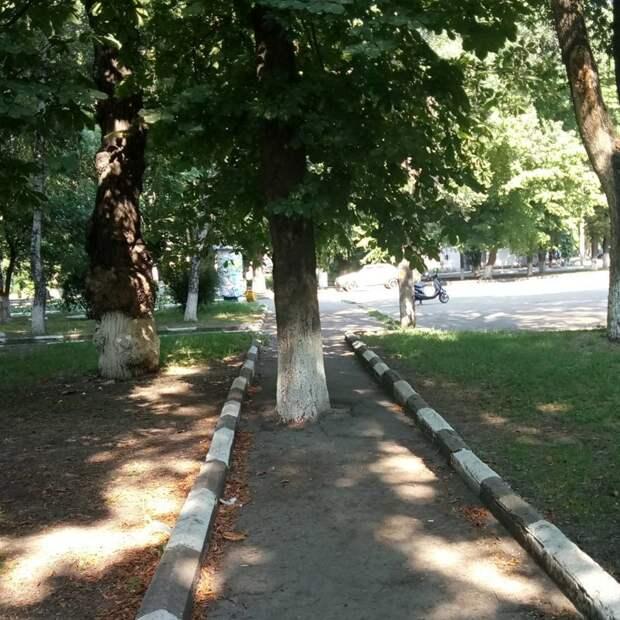 Кривой Рог асфальт, благоустройство, и так сойдет, и так сойдёт, тротуар