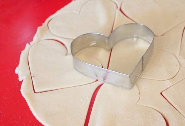 Вишневые сердечки