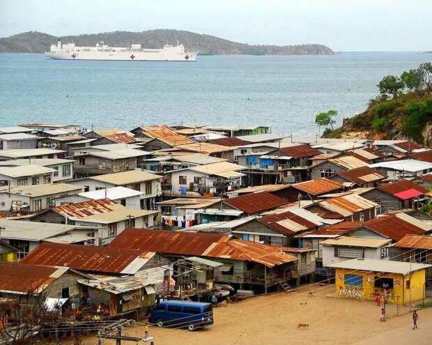 Порт-Морсби. Это еще далеко не худший район. Изображение взято из открытых источников.