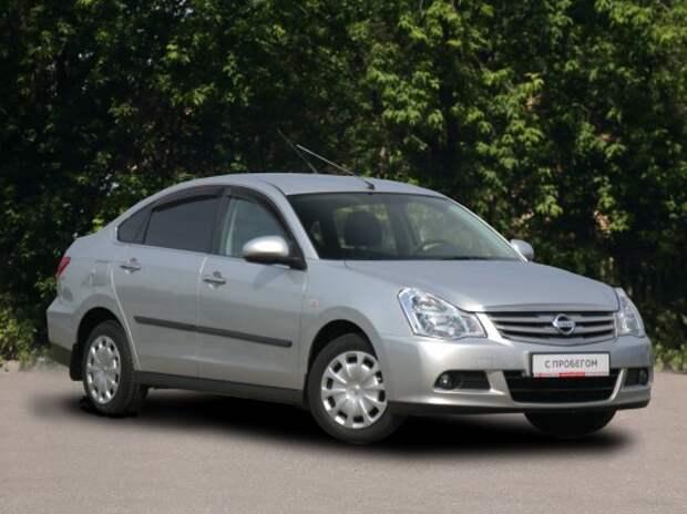 На аукционе Cars&Luck - Nissan Almera с пробегом