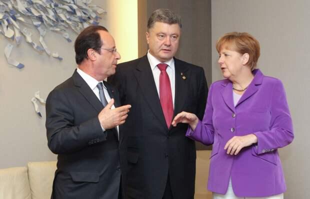 Bloomberg: У Франции и Германии уже сдают нервы из-за Украины Санкции против России якобы будут сняты уже в этом году
