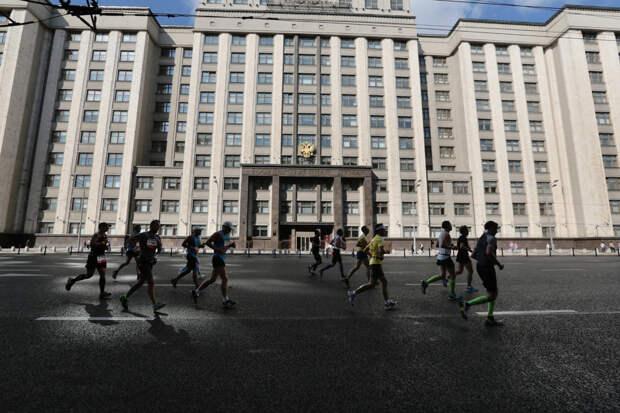 15 самых ярких кадров с Московского марафона