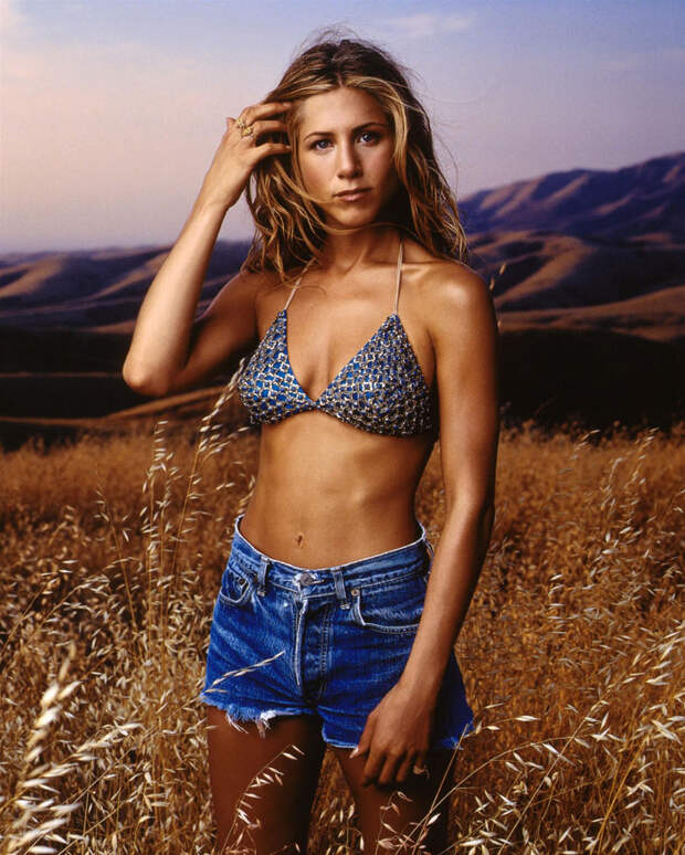 Дженнифер Энистон (Jennifer Aniston) в фотосессии Марка Селиджера (Mark Seliger) для журнала US Weekly (1998), фото 8