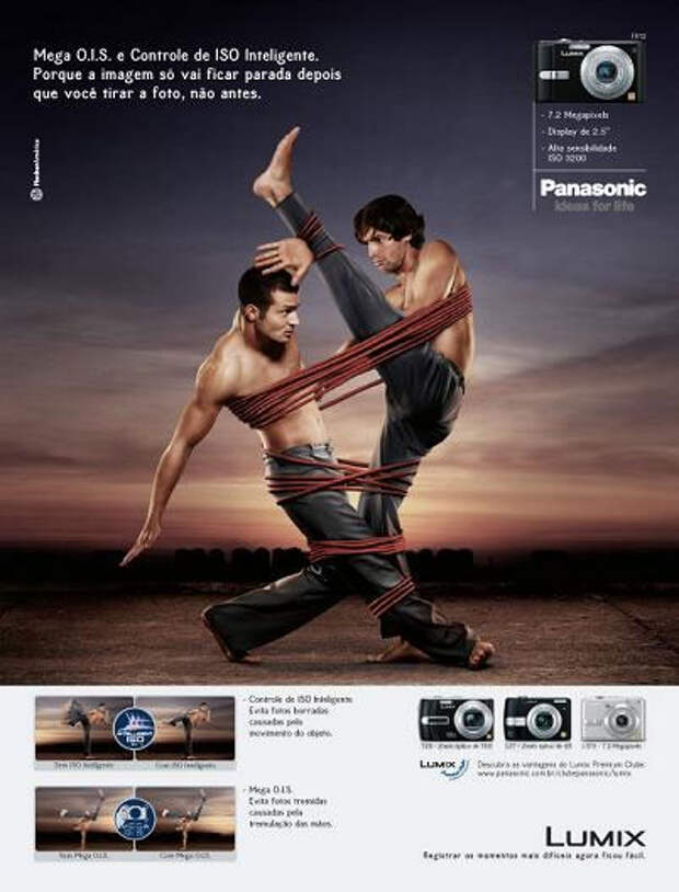Фотоаппарат Lumix связывает по рукам и ногам