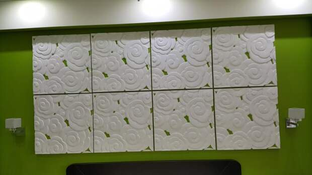 Монтаж декоративных панелей