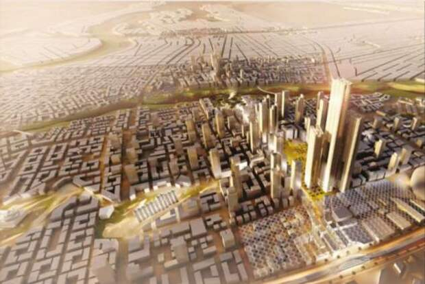 Из-за перенаселения Каира египтяне строят новый Дубай (3 фото + видео)