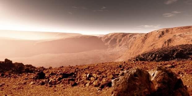 На Марсе стоит гигантская статуя Будды