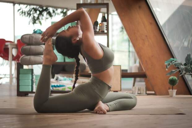 Благотворительный класс йоги отпроекта Yogachoice