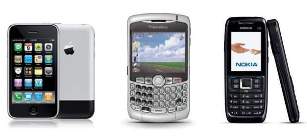 Почему смартфоны так похожи