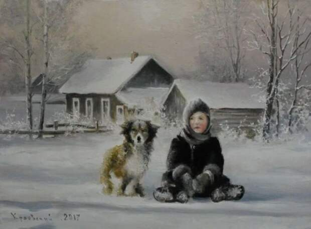 художник Владимир Краевский картины – 17