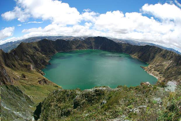 1. Озеро Килатоа (Quilotoa), Эквадор в мире, озеро, природа