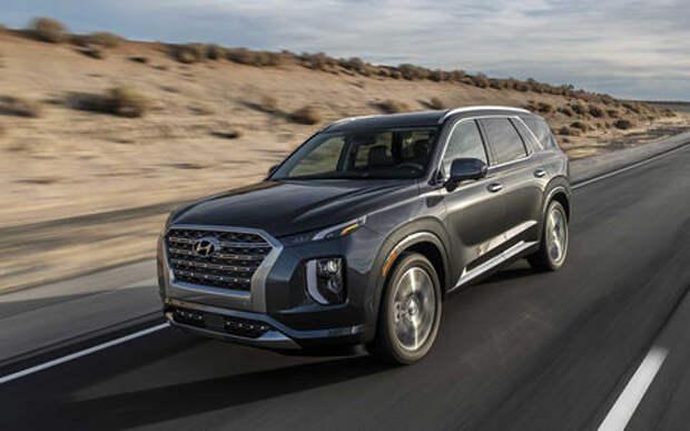 Hyundai показал свой огромный и роскошный внедорожник
