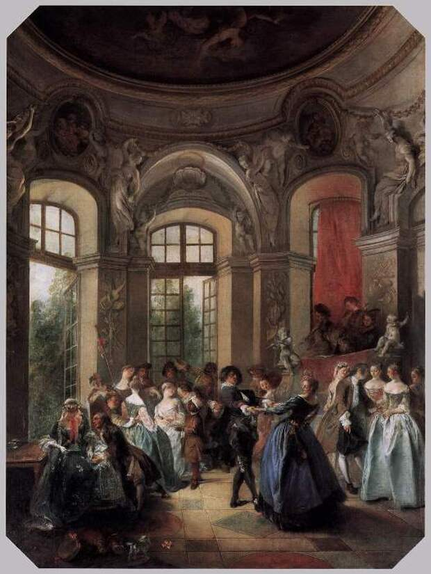 Никола Ланкре. Танцы в павильоне
