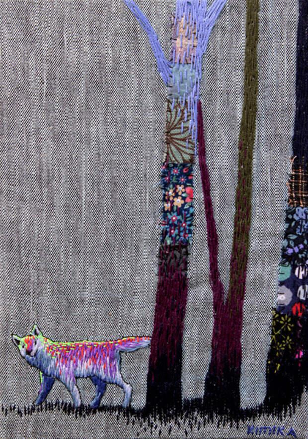 Кимика Хара: удивительная вышивка!
