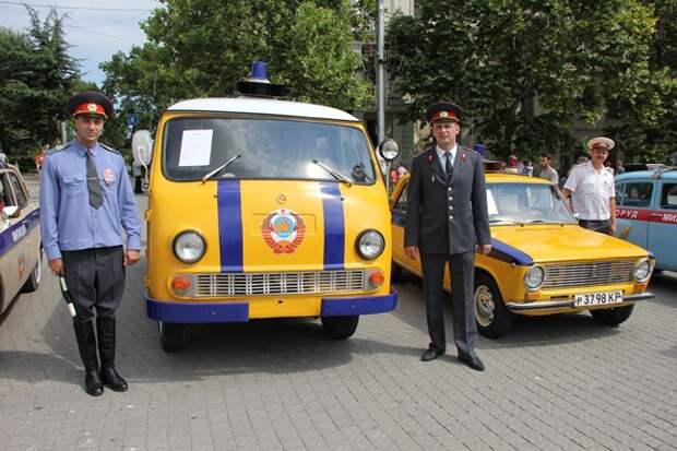 1 июля Госавтоинспекция Севастополя «выкатит» на площадь автомобили