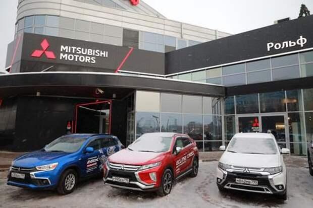 Mitsubishi меняет облик дилеров марки