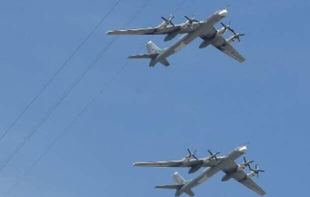 Российские стратегические бомбардировщики Ту-95 добрались до Гуама