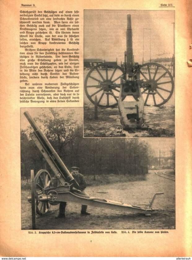 Как появилась зенитная артиллерия