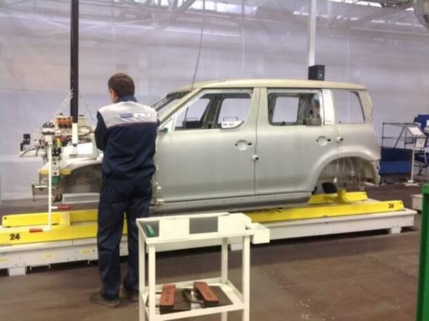 Группа ГАЗ снизила темпы сборки автомобилей для Volkswagen